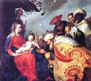 Adoration of the wisemen