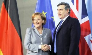 Brown and Merkel