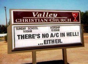 4 - church sign