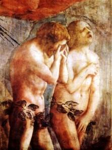 Masaccio - Adam & Eve (detail)