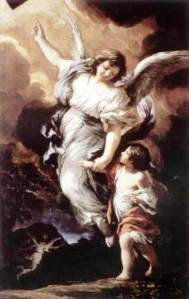 The guardian angel - Pietro da Cortona