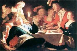 Gerrit Van Honthorst - the prodigal son