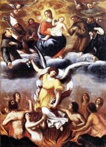 Lodovico Carracci - souls in purgatory