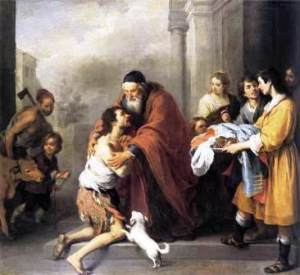 Murillo - return of the prodigal son