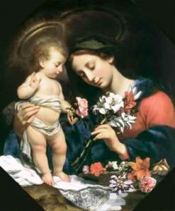 Dolci - Mary with the Infant Jesus