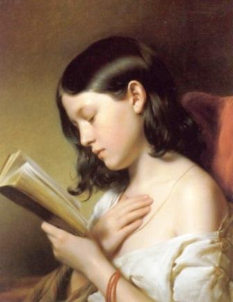 Eybl - Girl reading