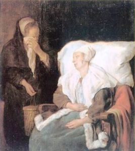 Metsu - The Sick Girl (1658)