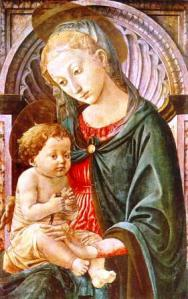 Pesellino - Madonna with child