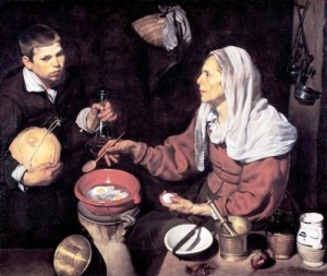 Velazquez - old woman cooking